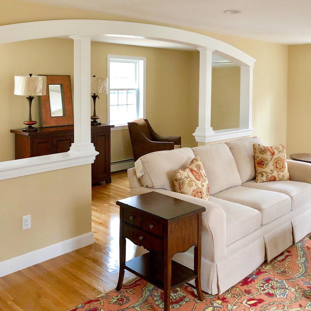 Family Room Design North Andover, MA