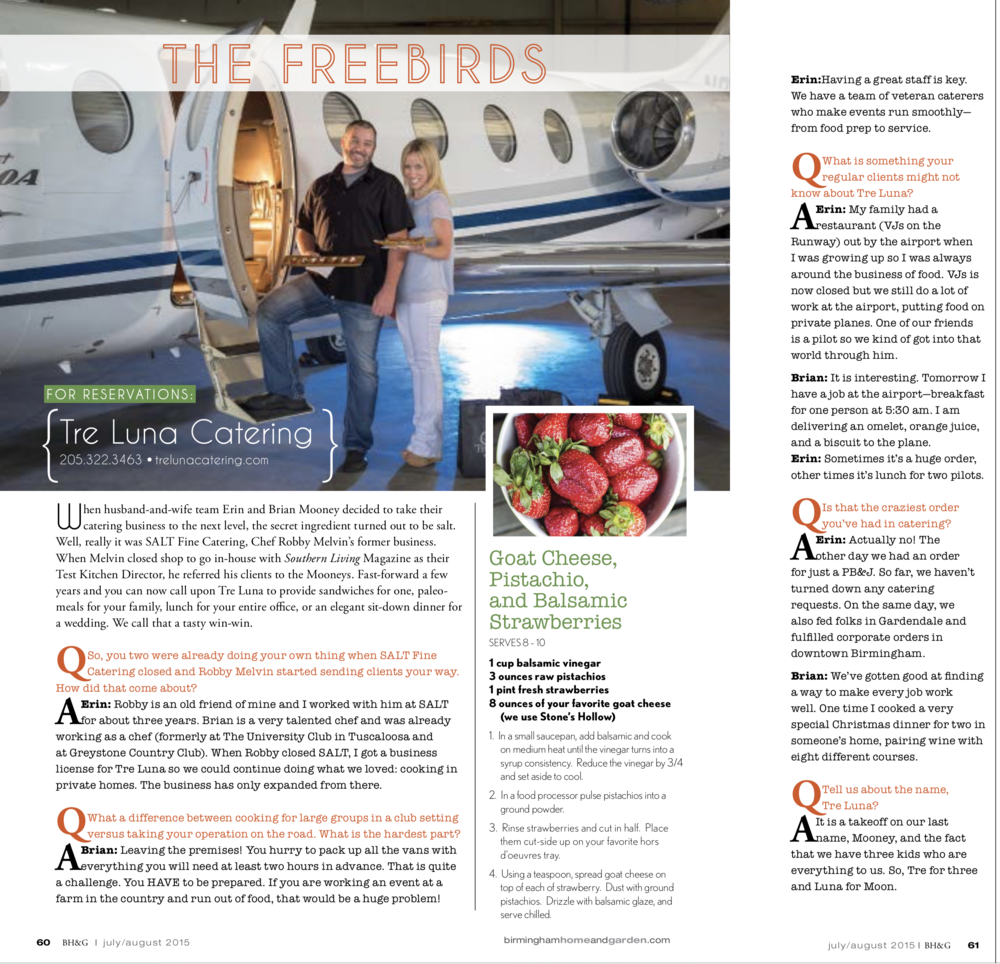 The Freebirds | July/August 2015