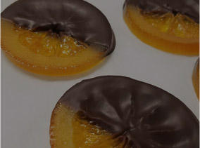 Candied Orange - Hand-Dipped Candied Italian Orange Slices