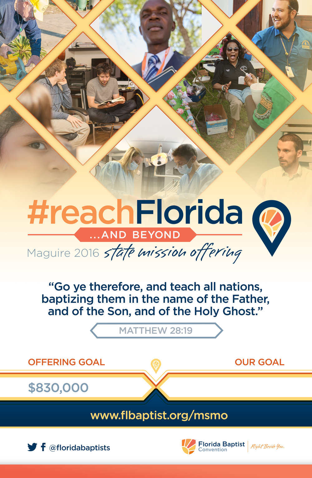 2016 Maguire State Missions Offering Poster