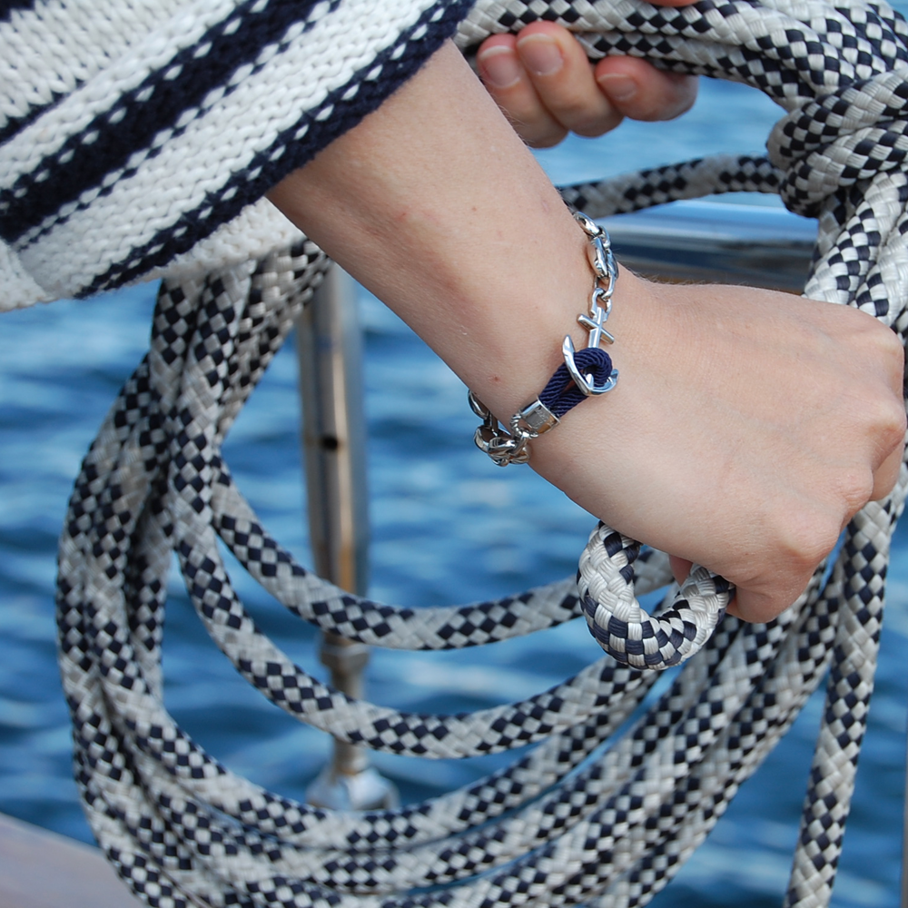 The story - The Maris Sal® story began when Maria Johansson Bayindir, Swedish designer and scuba dive instructor, had had enough of inferior quality accessories which would not stand the test of the nautical environment in which she spent her days. Inspired by her father, a skilled goldsmith, she decided to create a range of superior quality, nautical bracelets, which would be the perfect companion for a nautical dream life. One should never have to sacrifice durability for beauty or settle with less than perfection.Our philosophy is built into every piece we make.The Maris Sal Collection is made for the discerning individual, who appreciates the pleasures of the seaside lifestyle and seeks quality in all aspects of life.