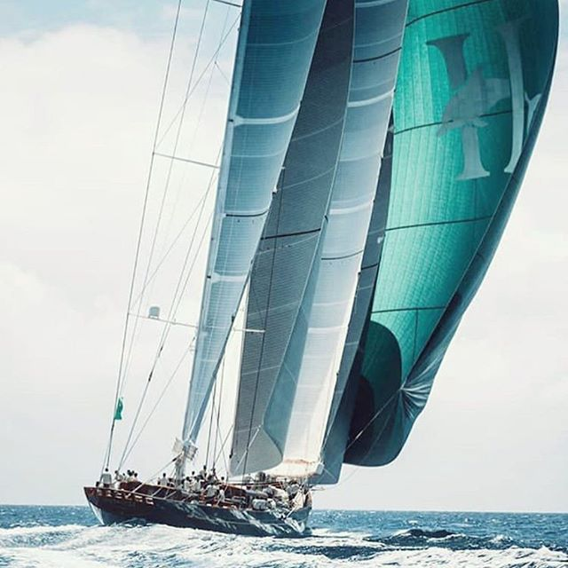 Sailing beauty by @nautismeinfo