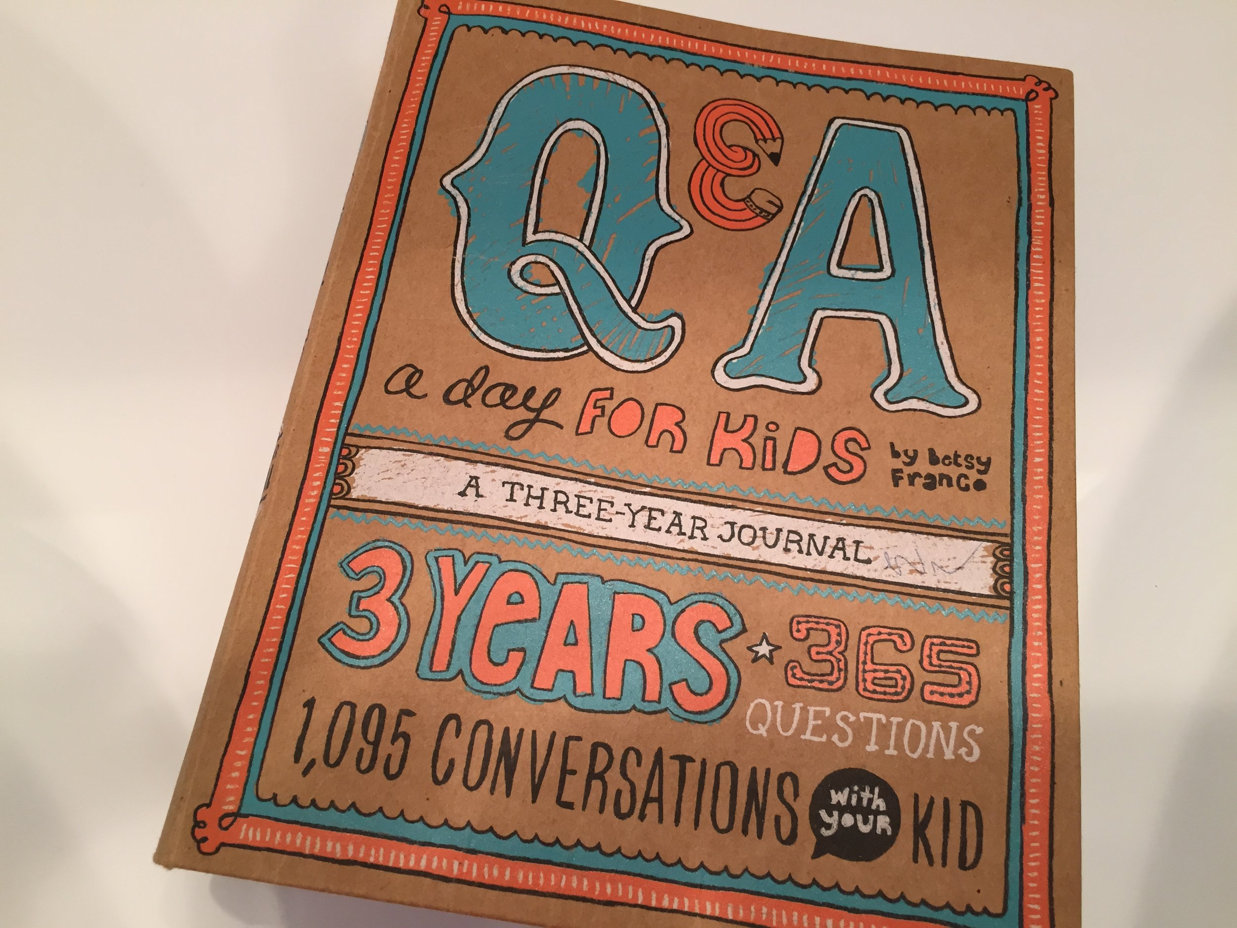 Q&A a day, Journaling, The Everyday Journalista, Everyday Journalista, Family Fun, Parent Child Relationship,