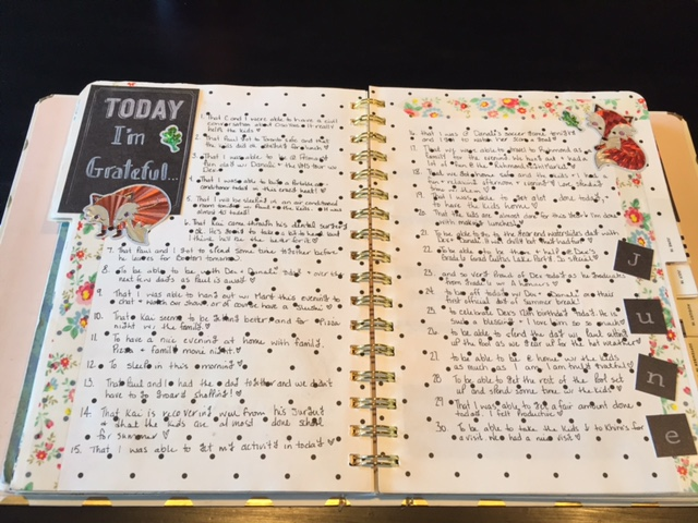 Gratitude Challenge, I'm grateful for, Journaling, Planning, Gratitude Journal, 12 days of Gratitude, Planner layout, Gratitude challenge layout