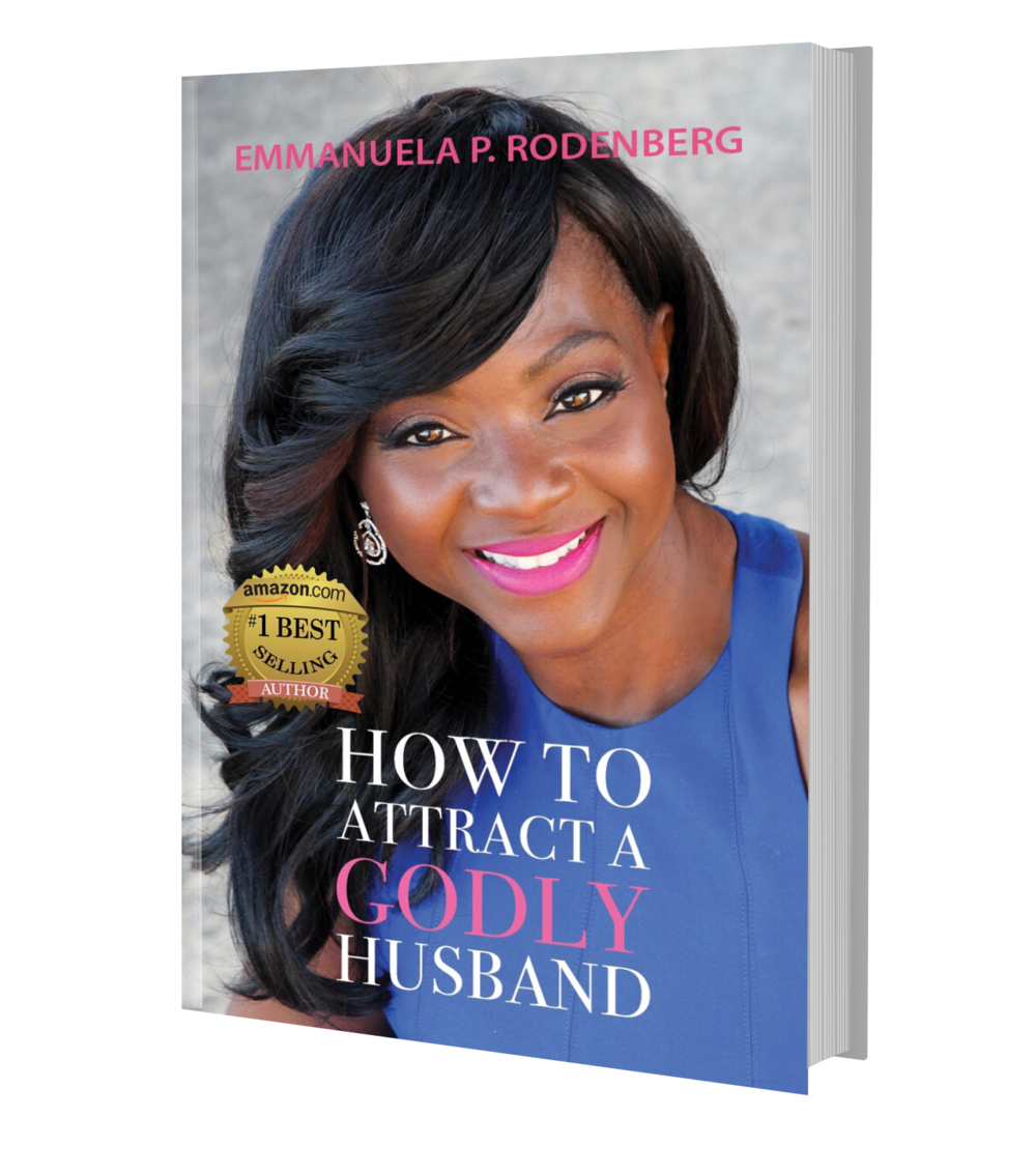 """HOW TO ATTRACT A GODLY HUSBAND - """"How to Attract a Godly Husband"""" is a must read! It has practical advice about how to approach relationships and offers its readers an opportunity to reflect upon their actions and adjust accordingly. Emmanuela is insightful about today's dating scene and helps women to maneuver the pitfalls"""