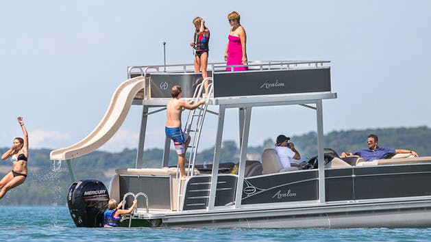 Double Decker Pontoon - from $