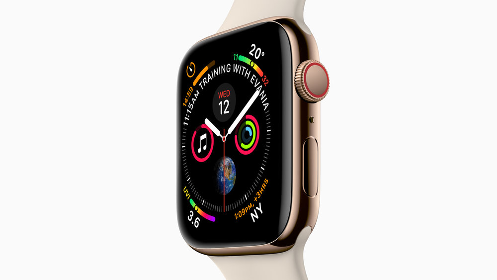 All new. For a better you. - Apple Watch Series 4