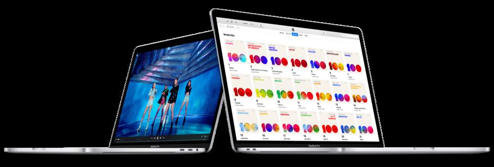 Apple Music on MacBook Pro