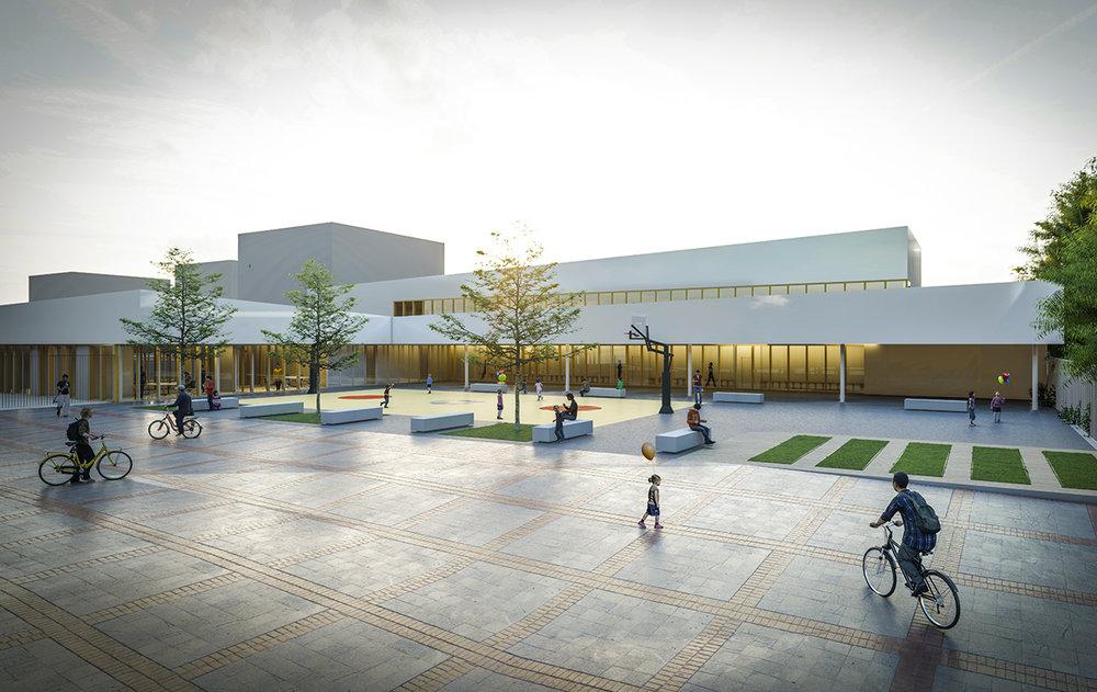 Reconstruction de l'Ecole Jules Ferry à Noisiel - L'appel d'offre est lancé