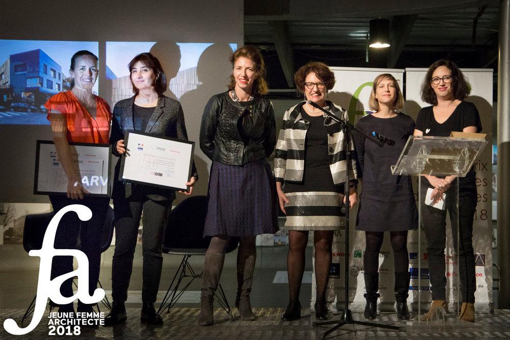 Sandra de Giorgio Lauréate du Prix de la Jeune Femme Architecte 2018 -