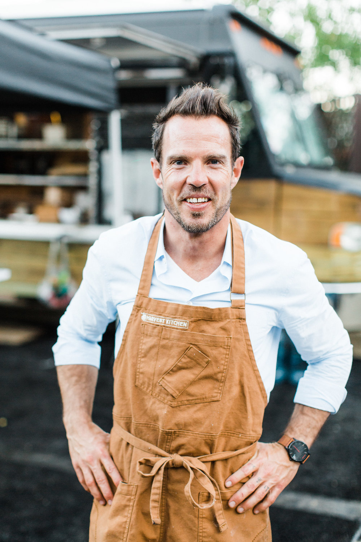 David Alan Holtze, CEO Harvest Kitchen catering services, Vista, CA