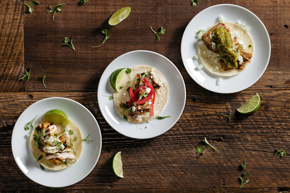 salads, tacos and small plate catering company