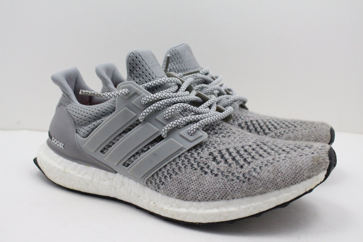 65242413025 US 9 - Adidas Ultra Boost 1.0 Wool Grey — Evolution Soles