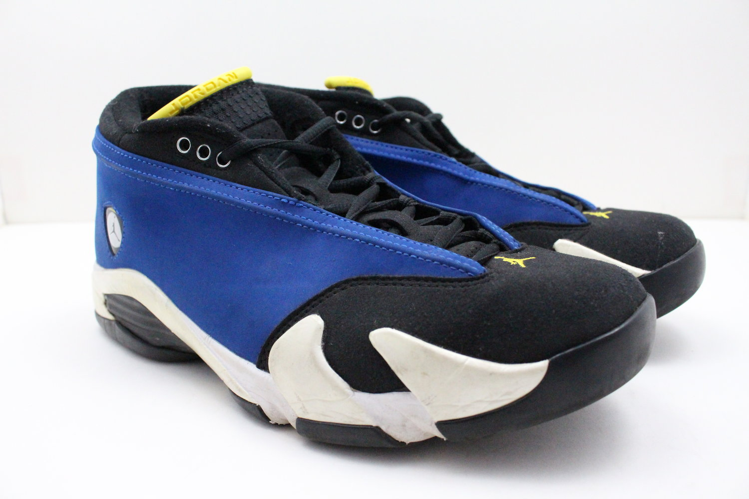 a531f2e5fdc965 US 9 - Nike Air Retro Jordan 14 Laney — Evolution Soles