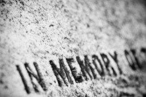 Tombstone - gone but not forgotten