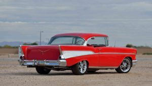 1957 Chevrolet Bel Air candy apple red