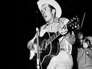 Hank Williams sings
