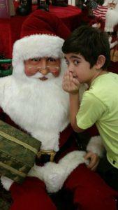 ty david and santa claus