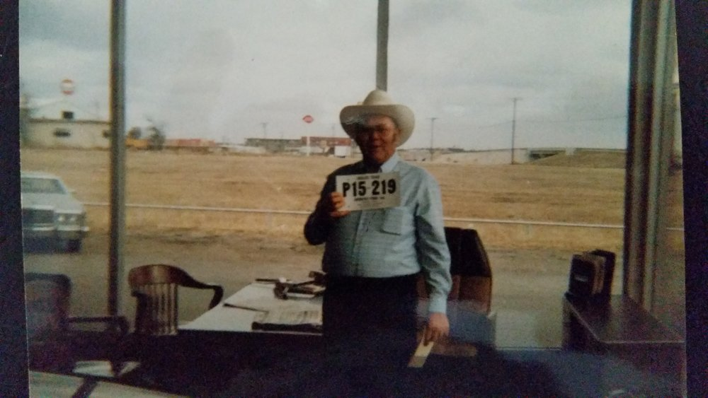 William David Strother, my father, the artist of the deal