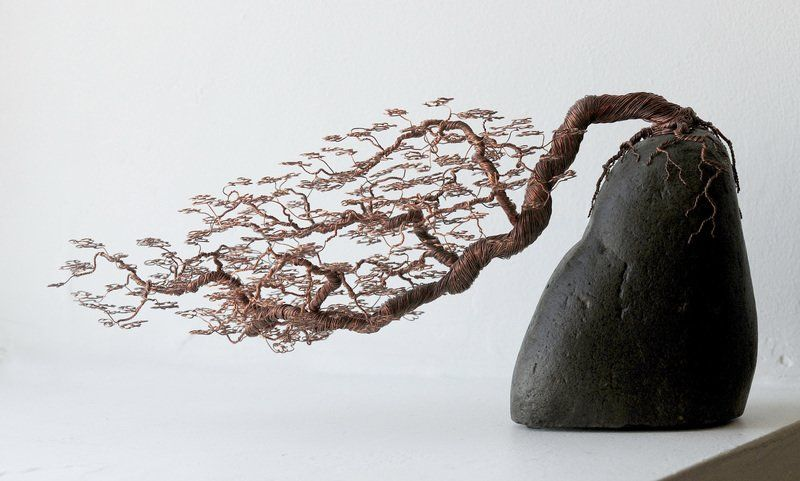 "Wire By Ryan Earns Top Prize in Juried Show - ""High honors have been bestowed upon both sculptures submitted by Byfield artist Ryan Kelley to the Newburyport Art Association's winter members show."""