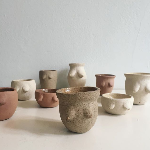 Ceramic Cup // Unique Cup // Ceramics and Pottery // Mug