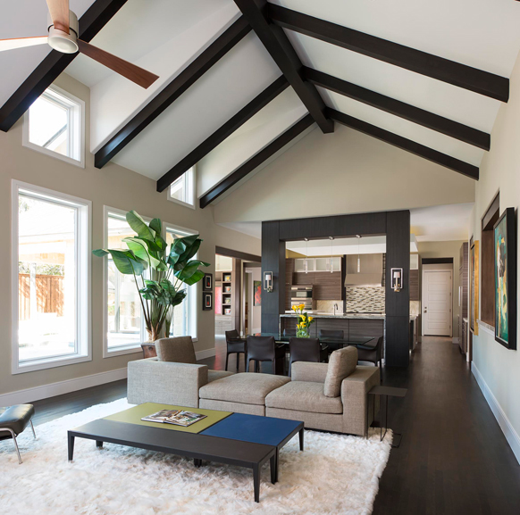 LIVING & SITTING ROOMS