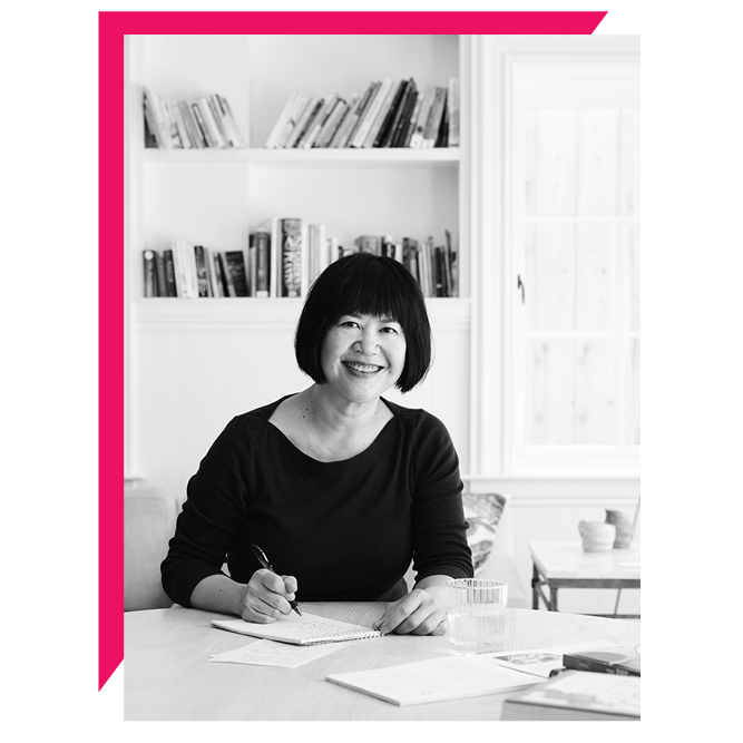 Andrea Nguyen , M.A., is a bank examiner gone astray who's living her childhood dream of being an award-winning food writer and teaching people how to cook well. Her impactful books,  Into the Vietnamese Kitchen ,  Asian Dumplings ,  Asian Tofu ,  The Banh Mi Handbook,  and  The Pho Cookbook  (2018 James Beard Foundation award winner) have been recognized by the James Beard Foundation, International Association of Culinary Professionals, and National Public Radio for their excellence. Andrea also edited  Unforgettable , a biography cookbook about culinary icon Paula Wolfert that won an IACP award in 2018. Her latest work,  Vietnamese Food Any Day , was released in February 2019 by Ten Speed Press/Random House. Andrea has contributed to publications such as the  Washington Post ,  Wall Street Journal ,  Food and Wine ,  Lucky Peach ,  Saveur , and  Cooking Light .
