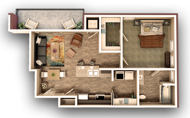 One Bedroom Floor plan G[623].png