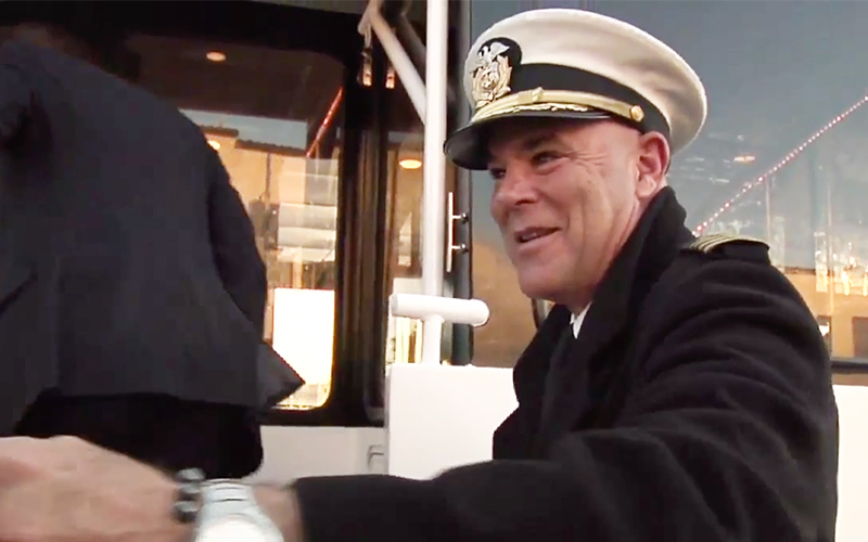 San Francisco Yacht Captain Gerry Robertson