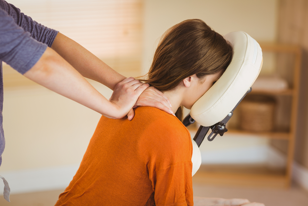 Office Massage - Boost morale and eliminate stress with on-site chair massage. All equipment for an in-office spa experience provided. Sessions available in 10, 15 or 20 minute increments and simple to implement with online scheduling options. 3-hour event block minimum.