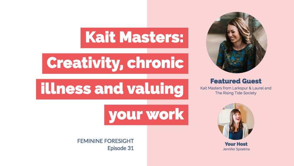 Kait Masters video podcast cover