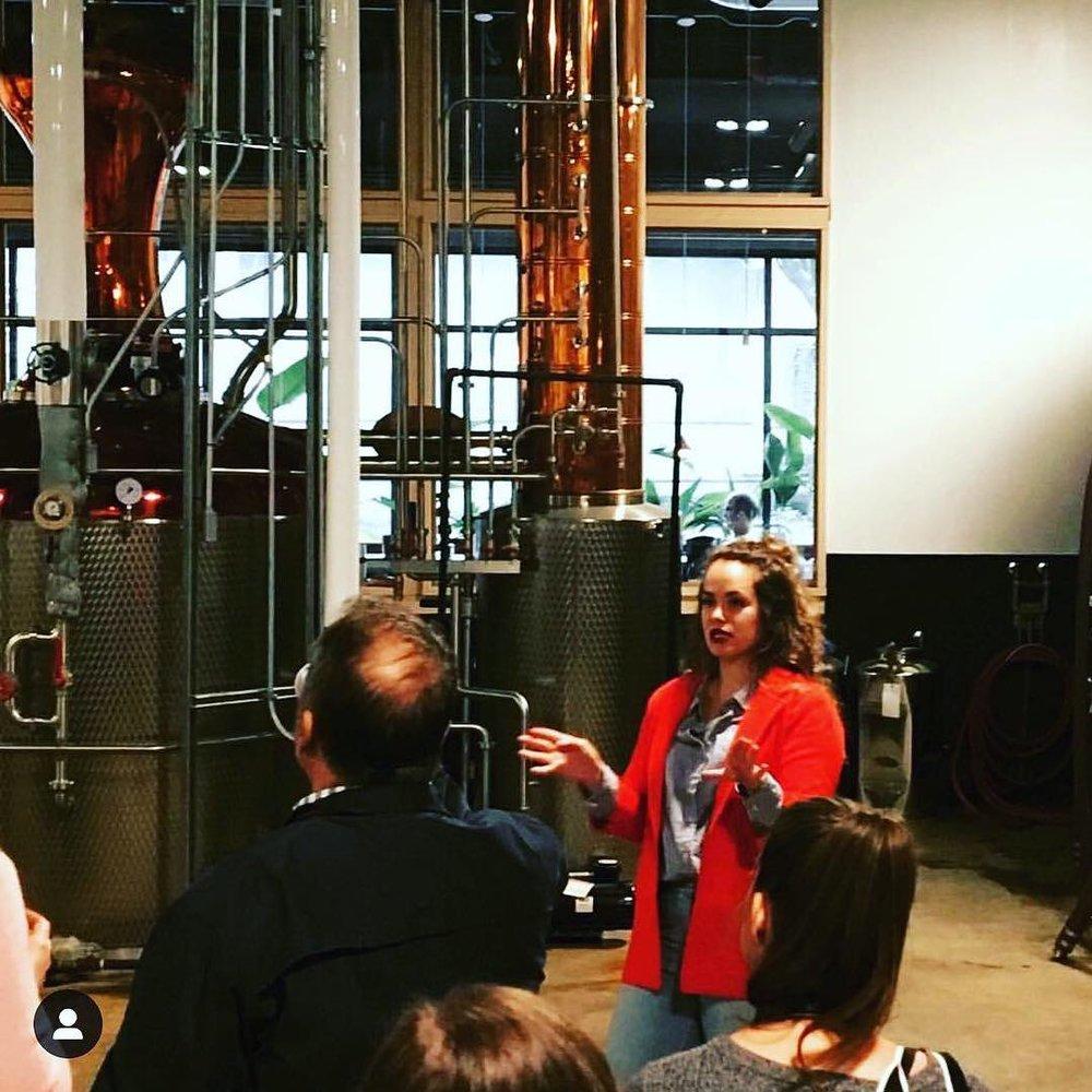 Master Distiller Molly  Freeland Spirits