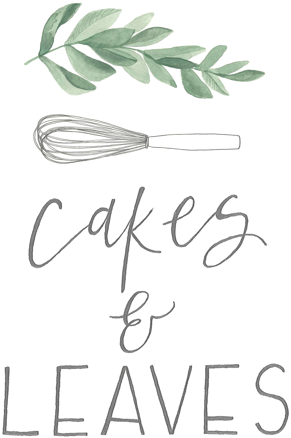 Cakes & leaves | Nature inspired healthy cake art from London