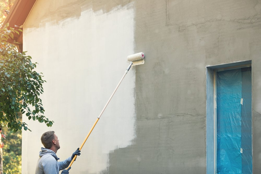 Painting & Pressure Cleaning - There are many different types of paints on the market today. We specialize in the application of elastomeric paints that will encapsulate the entire building exterior. These highly advanced paints require a high level of experience and expertise. We also offer pressure cleaning services.