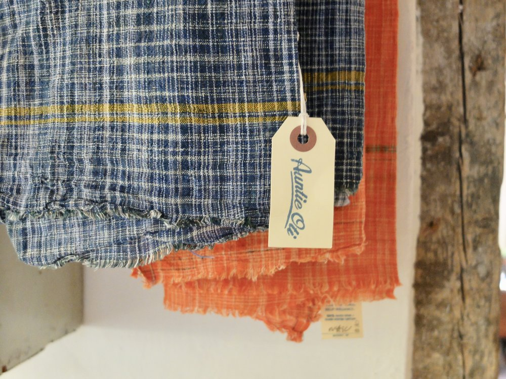 AUNTI OTI KHADI DISH TOWELS at  WORLDSENDNY.COM