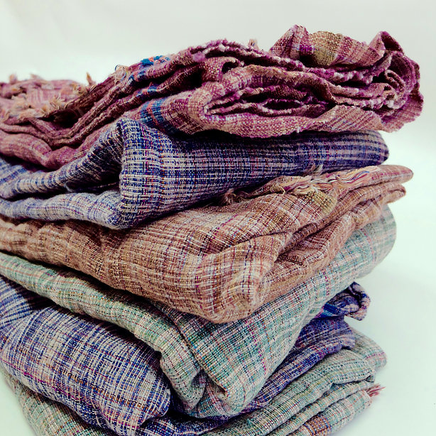 HAND LOOMED KHADI BEACH WRAPS & SHOWER TOWELS at  WORLDSENDNY.COM