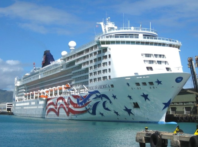 Norwegian Cruise Lines - We worked on The Pride of America. This 7-day cruise went to four Hawaiian Islands.