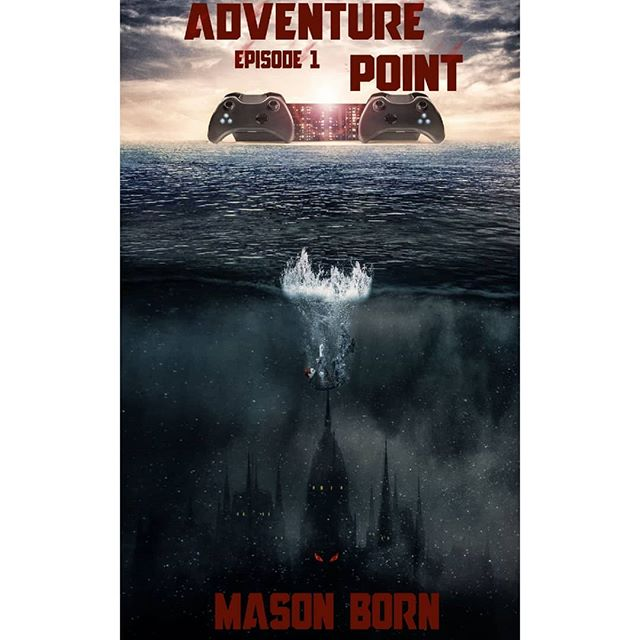 New book cover I did for my friend @thebornactual  Its called Adventure Point and is available now on kindle for $3.99 check it out you would like to support us.  And thank you for all the ongoing support on ig you guys are awesome!  Hope everyone is having a wonderful weekend!  #photomanipulation #photoart #art #digitalartist #digitalart #photography  #freelance #instagood #instaart #videogames #book #bookcover #kindle #scifi #adventure #read #reading #illustration #illustrator #illustrationartists