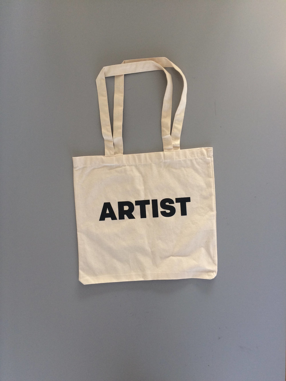 "Artist Tote Bag  15"" X 14"" (Straps 11"")    $8.00"