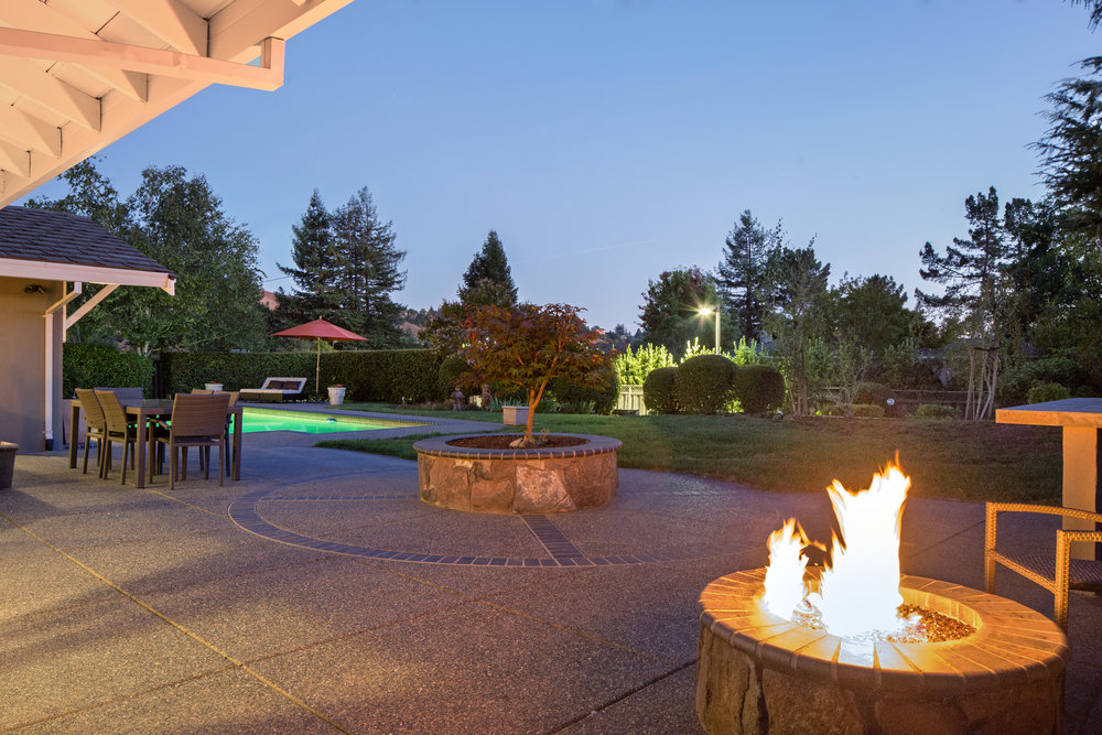 A fire pit is a great place to gather to stay warm…  learn more