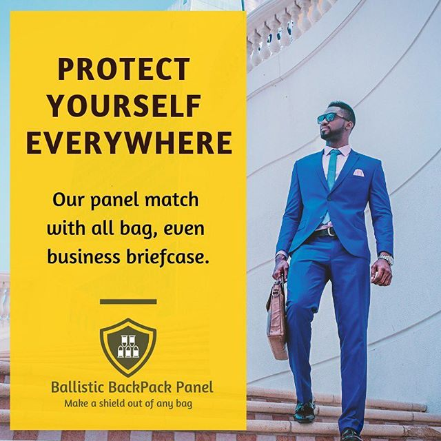 Did you feel safe going to work every day? 🇺🇸 💼You can do it, with our panel in your briefcase. . . . Keep track of our products at ballisticbackpackpanel.com 🎒🆕. . . #ballistic #ballisticbackpackpanel #panel #work #school #parents #protect #safety #safe #family #entrepreneur #startup #buy #us #usa #washingtondc