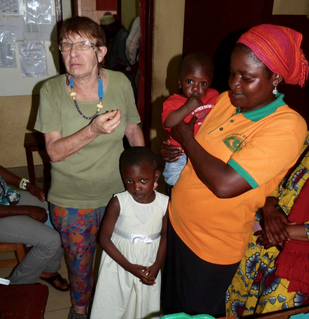 Preisträgerin Dr. Elisabeth Herz, Nkongsamba - Kamerun
