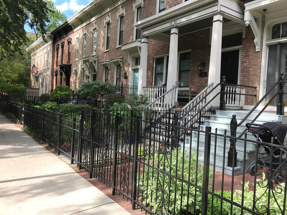 Centuries-old Rowhouses