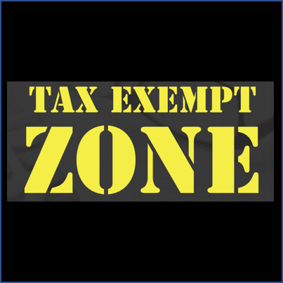 Tax Exempt Zone