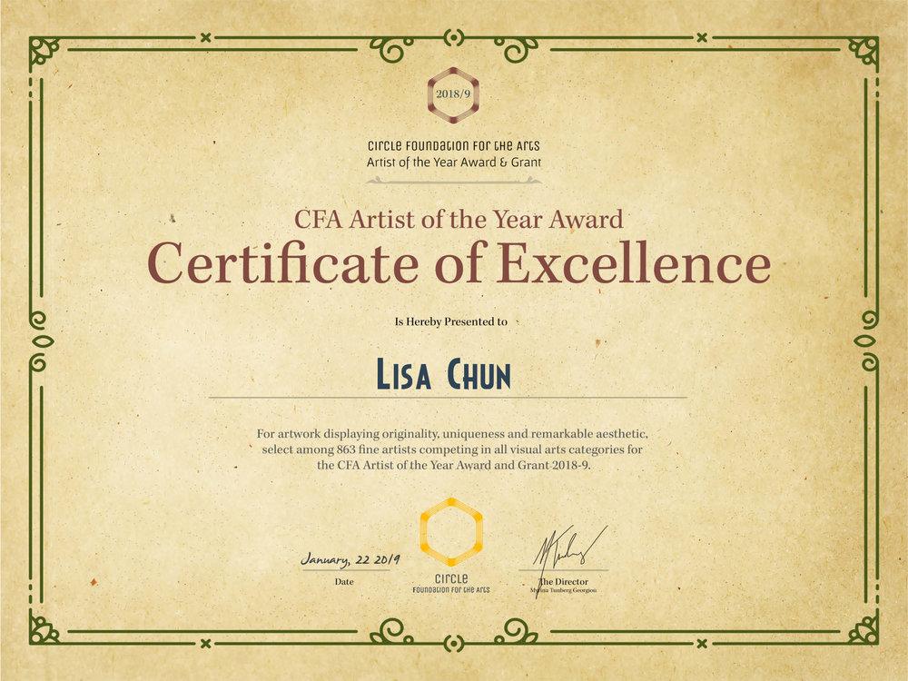 ArtistOfTheYear-Certificate Lisa Chun.jpg