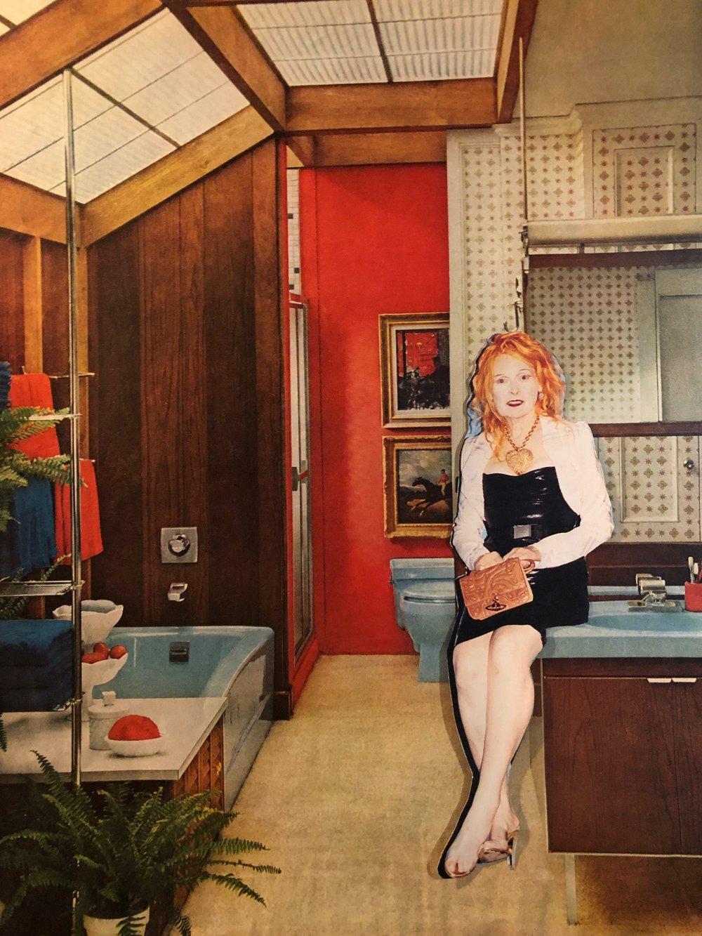 bathroom scenes (Vivienne Westwood)