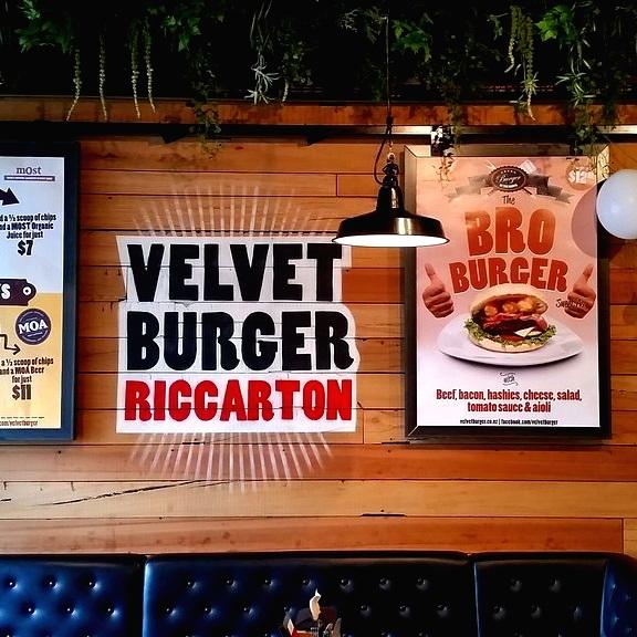 VELVET BURGER RICCARTON - 111 Riccarton Road, Riccarton