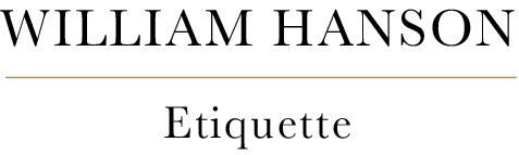 William Hanson - The UK's leading etiquette coach & expert