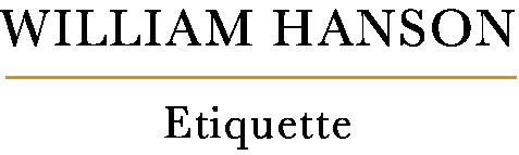 William Hanson - The UK's leading etiquette coach & expert