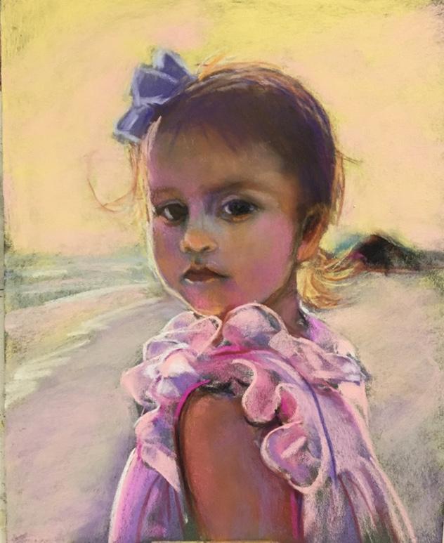 """11"""" x 14"""" pastel portrait"""